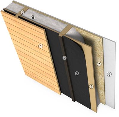 Holzrahmenbau wandaufbau detail  Zimmermeister modernisieren: Erweiterung eines Einfamilienhauses